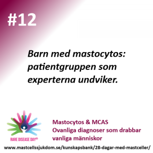 Barn med mastocytos
